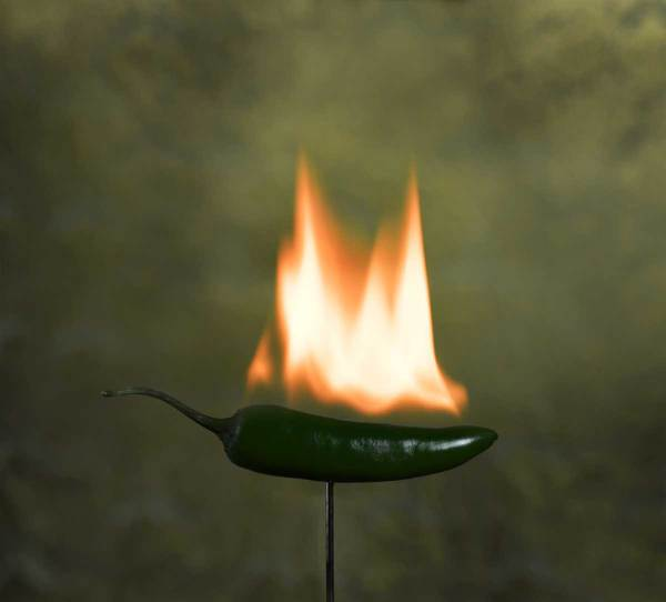 Flaming Jalapeno